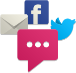 Mention Me enables referral by social media like Facebook and Twitter plus email and uniquely by name.